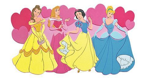 Sticker Princesas Disney