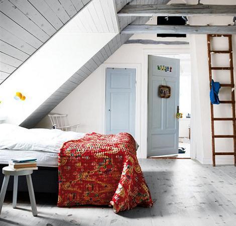 Dormitorio juvenil vintage