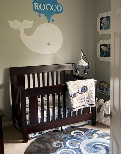 Habitación de bebé acuática