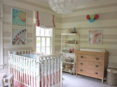 Habitación de bebé bonita