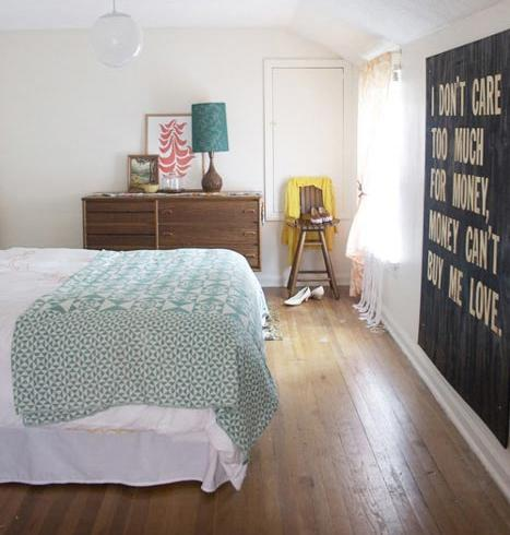 Habitación juvenil vintage