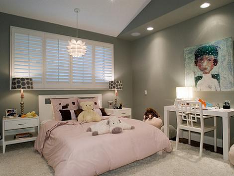 Habitación niña neutral