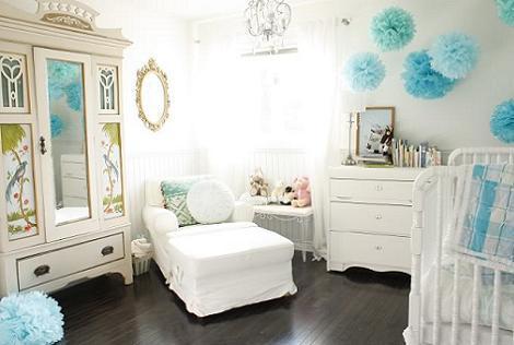 Habitación vintage bebé