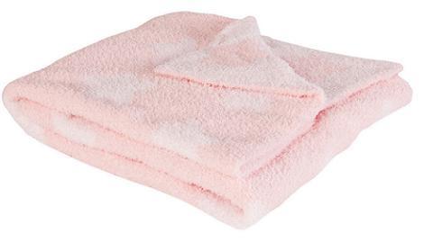 Manta rosa bebé