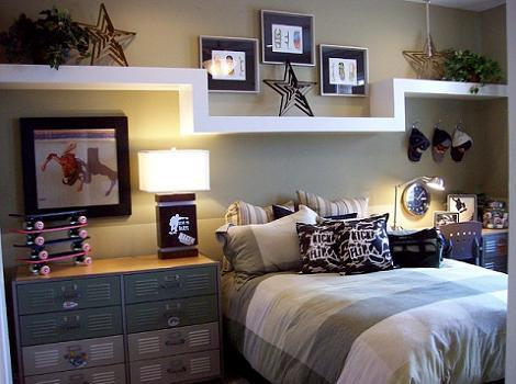 Dormitorio chica gris