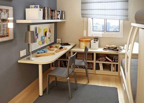 Dormitorio infantil minimalista