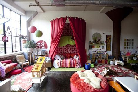 Dormitorio infantil de niña