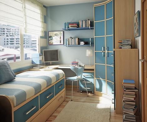Dormitorio juvenil práctico