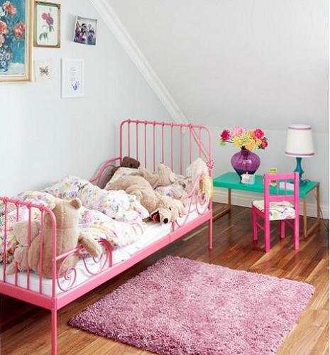 Habitaciones infantiles de ni a for Muebles habitacion infantil nina