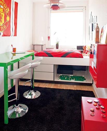 Fotos de habitaciones juveniles peque as - Habitaciones juveniles pequenas ...