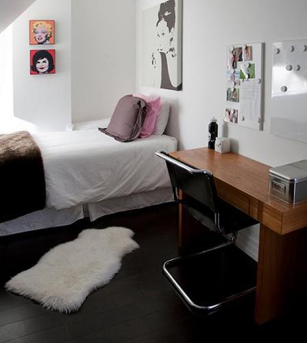 Dormitorio chica moderno
