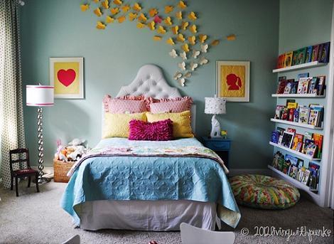 8 dormitorios de ni a - Dormitorio infantil nina ...