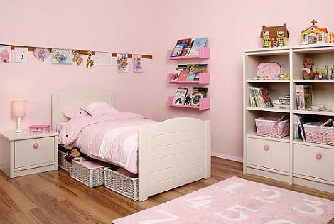 Habitación Asoral para niña