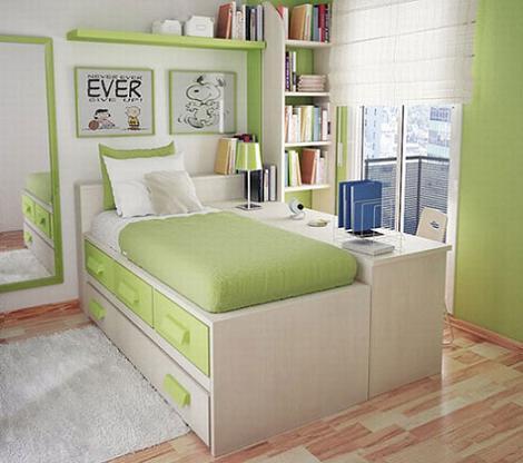 Habitación chica pequeña