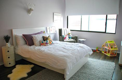Habitación niña moderna