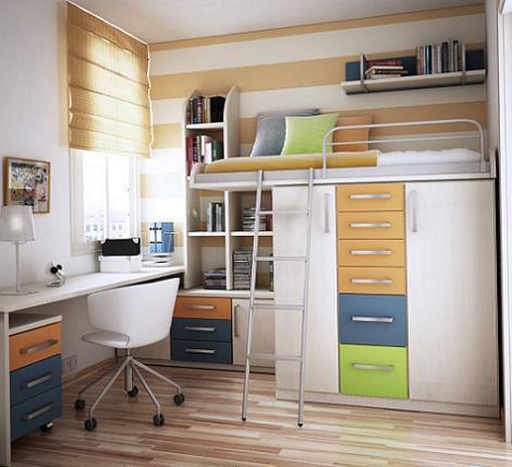 Idea habitación pequeña