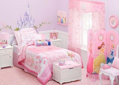 Dormitorio niña Disney