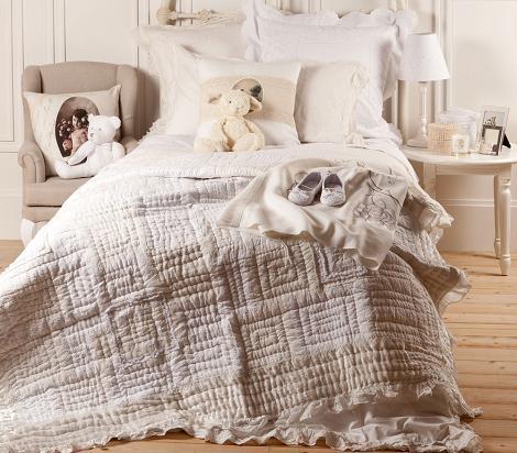 Dormitorio vintage Zara Home