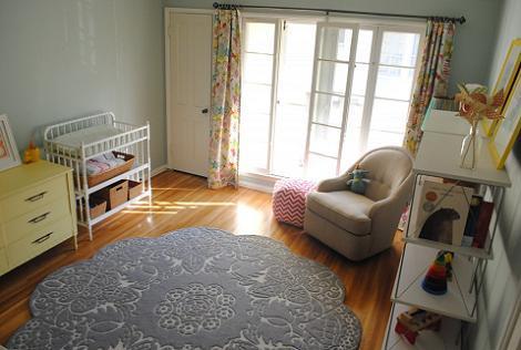 Habitación grande para bebé