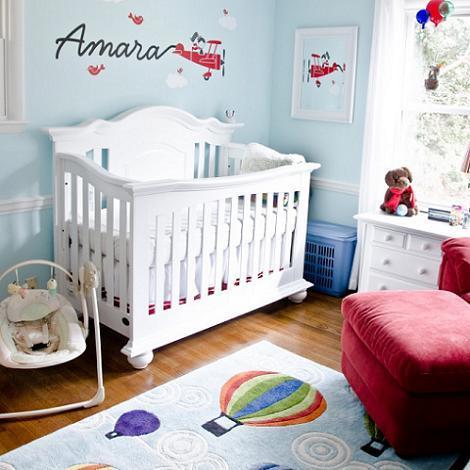 Dormitorio de beb ni a - Dormitorio bebe nina ...