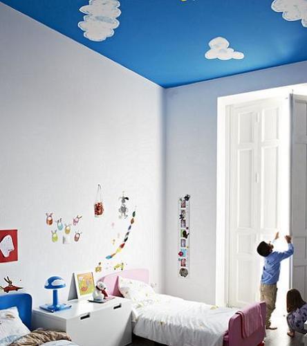 Pintar el techo de la habitaci n infantil - Ideas pintar habitacion infantil ...