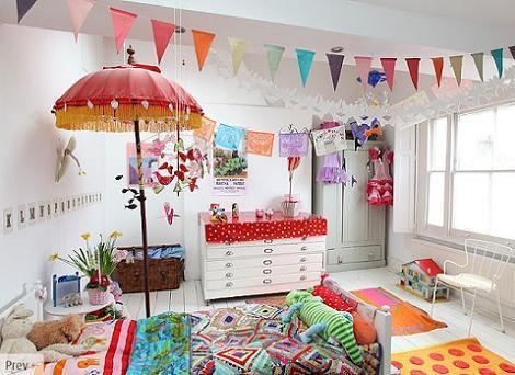 Guirnaldas habitación infantil