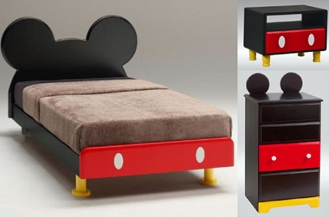 decorar habitación Mickey Mouse