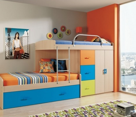 Dormitorios infantiles de merkambueble 2013 for Dormitorios infantiles literas