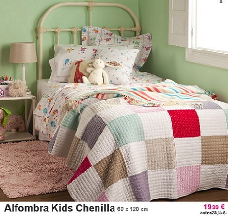 Rebajas de verano en zara home kids for Alfombras dormitorio zara home