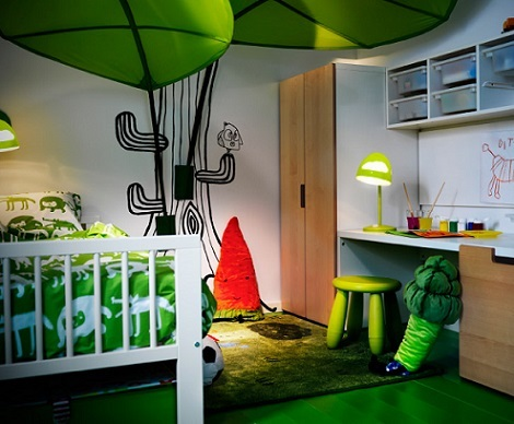 Inspiraci n para decorar dormitorios infantiles con ikea - Ikea infantil dormitorios ...