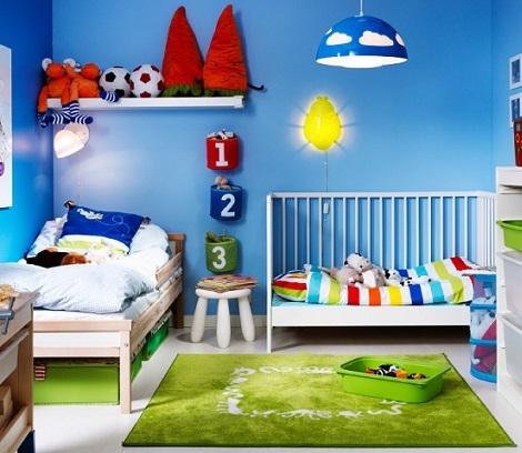 dormitorios infantiles ikea color