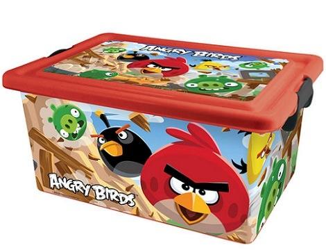 caja de angry birds
