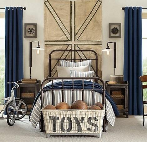 C mo se puede decorar una habitaci n juvenil con estilo - Decoracion vintage habitacion ...