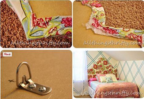 C mo hacer cabeceros tapizados en casa - Cabeceros infantiles tapizados ...