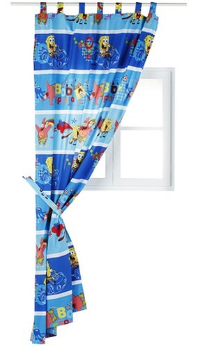 cortinas infantiles bob esponja