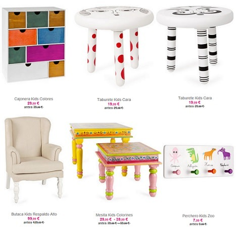 mesas zara home kids