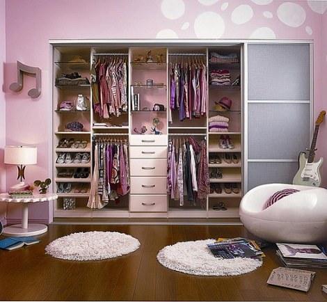 Ideas para hacer tu peque o vestidor infantil - Ideas para armarios empotrados ...