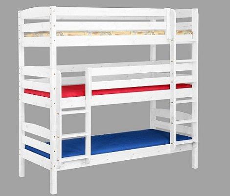 D nde puedes encontrar literas triples for Precios de camas infantiles