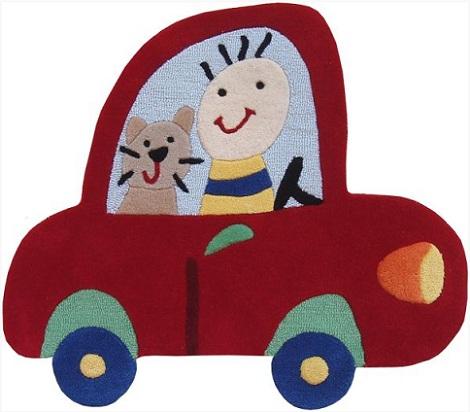 alfombras infantiles originales coche