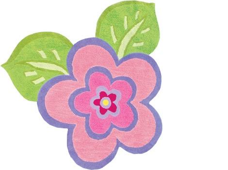 alfombras infantiles originales flor