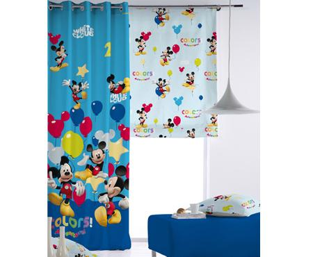Cortinas de Mickey