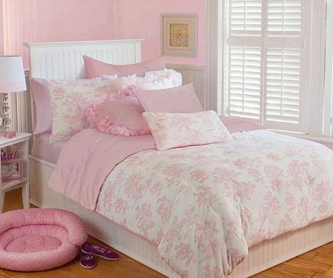 edredones infantiles originales rosa palo