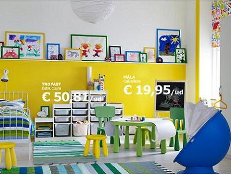 8 habitaciones infantiles de ikea for Cuartos infantiles ikea