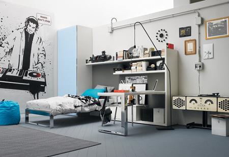 Fotos de habitaciones juveniles - Paredes habitacion juvenil ...