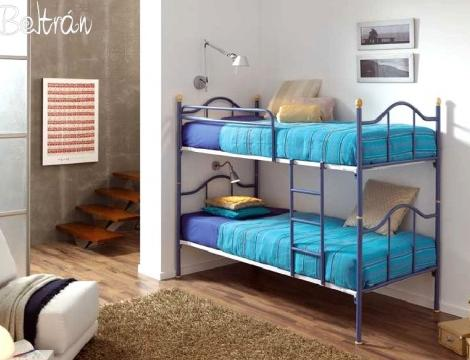 literas habitaciones infantiles forja