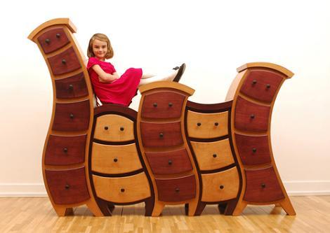 Muebles infantiles divertidos