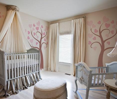 murales infantiles arboles