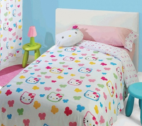 nordicos infantiles hello kitty mariposas