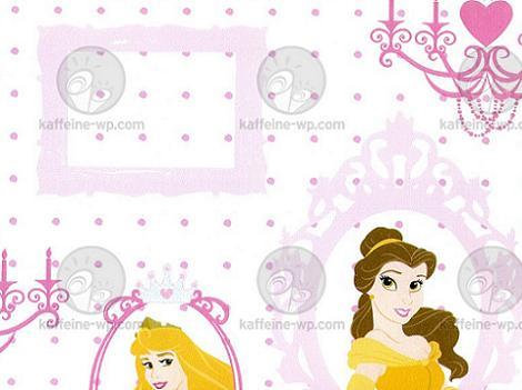 Papel pintado de Princesas
