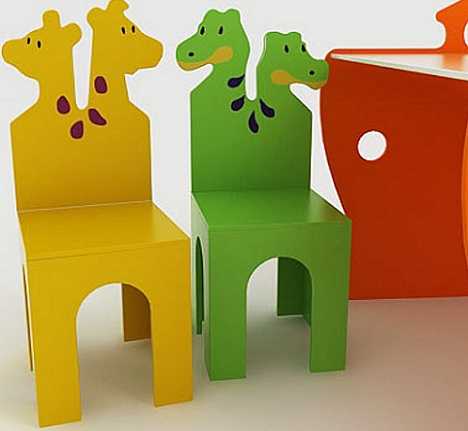 sillas infantiles animales pequenas